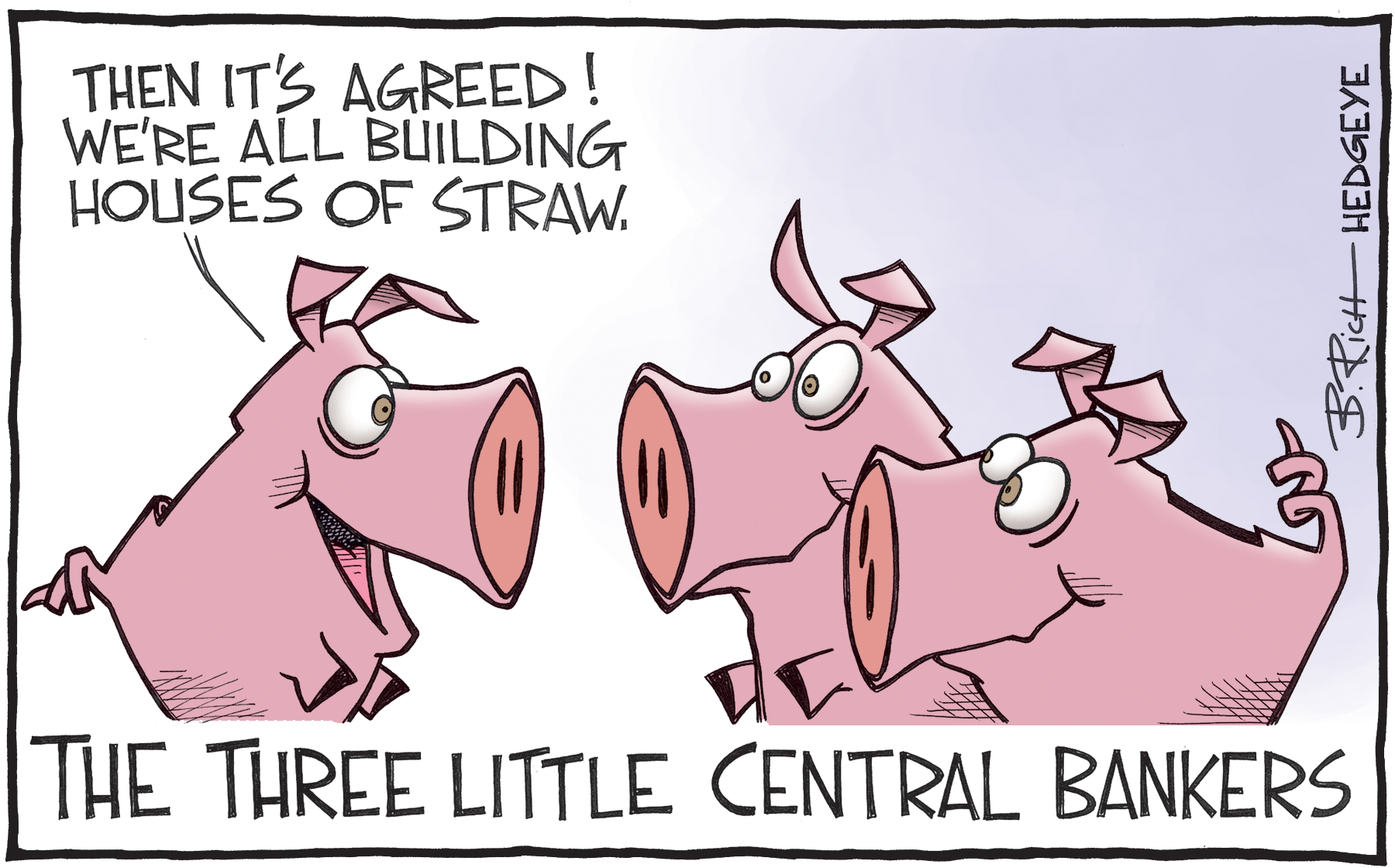 The narrative is changing…central bank omnipotence is on the wane